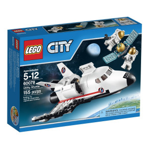 LEGO®City Space Port 60078 Utility Shuttle Building Kit