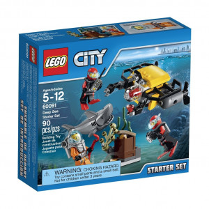LEGO® City Deep Sea Explorers 60091 Starter Building Kit