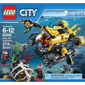 LEGO®City Deep Sea Explorers 60092 Submarine Building Kit
