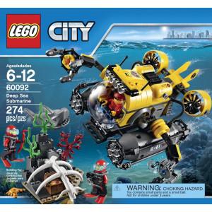 LEGO®City Deep Sea Explorers 60092 Submarine Building Kit