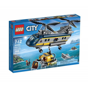 LEGO® City Deep Sea Explorers 60093 Helicopter Building Kit