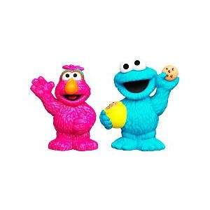 Playskool Sesame Street Figures 2-Pack - Cookie Monster and Telly