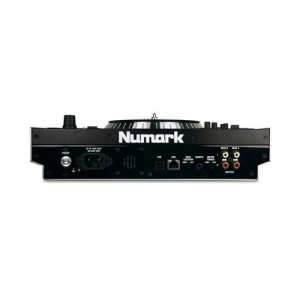 Numark V7 Motorized Turntable Software Controller and Numark V7 Wood-and-Metal Case for Numark V7 Bundle