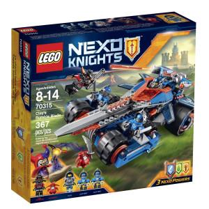 LEGO® NexoKnights 70315 Clay's Rumble Blade