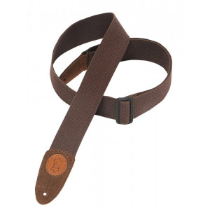 "Levy's Leathers MSSC8-BRN 2"" Cotton Guitar Strap"