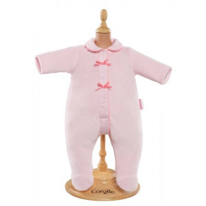 "Corolle Mon Classique Pink Pajamas for 14"" Doll Fashions"