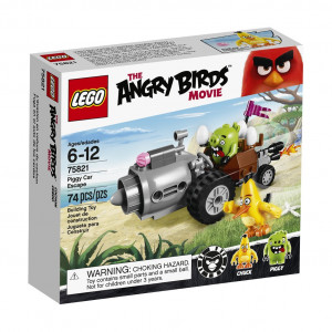 LEGO® Angry Birds 75821 Piggy Car Escape Building Kit (74 Piece)