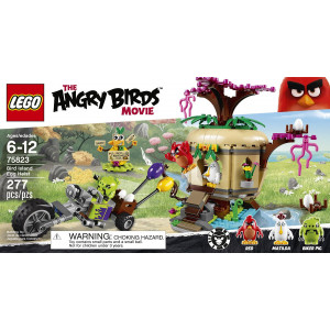 LEGO® Angry Birds 75823 Bird Island Egg Heist Building Kit (277 Piece)
