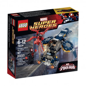 LEGO® Super Heroes 76036 Carnage's Shield Sky Attack Building Kit