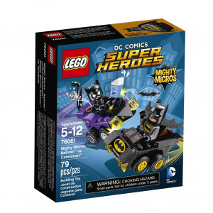 LEGO® Super Heroes Mighty Micros 76061 Batman(TM) vs. Catwoman(TM) 76061