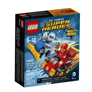 LEGO® Super Heroes Mighty Micros 76063 The Flash(TM) vs. Captain Co