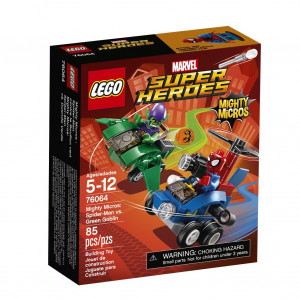 LEGO® Super Heroes Mighty Micros 76064 Spider-Man vs. Green Gobl
