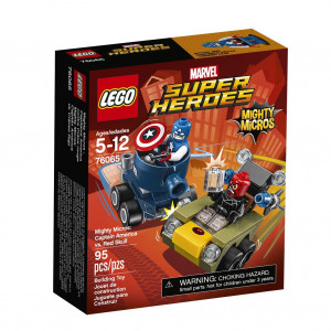 LEGO® Super Heroes Mighty Micros 76065 Captain America vs. Red S