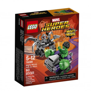 LEGO® Super Heroes 76066 Mighty Micros: Hulk vs. Ultron