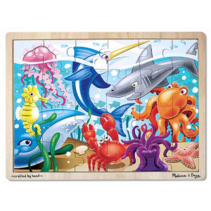 MELISSA & DOUG Under the Sea Jigsaw Puzzle