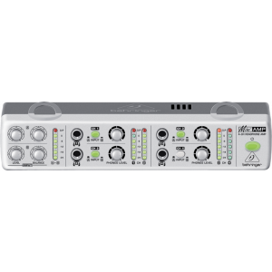 BEHRINGER MINI AMP AMP800 Ultra-Compact 4-Channel Stereo Headphone Amplifier