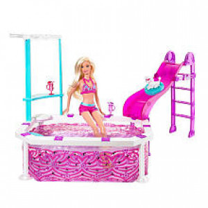 Barbie Glam Pool and Doll
