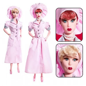 I Love Lucy Job Switching Lucy and Ethel Dolls