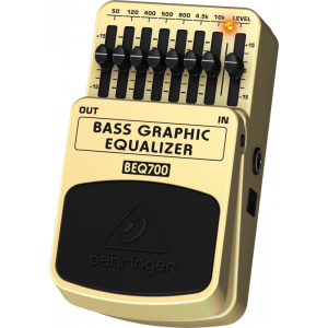 BEHRINGER BASS 7-Band GRAPHIC EQUALIZER BEQ700