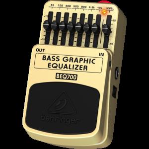 BEHRINGER BASS 7-Band GRAPHIC EQUALIZER BEQ700