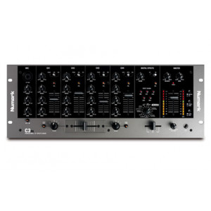 Numark C3FX Four-Channel Rack Mixer with Built-in Effects