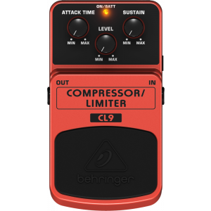 BEHRINGER Classic COMPRESSOR/LIMITER Effects Pedal CL9