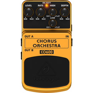 BEHRINGER CHORUS ORCHESTRA CO600 Stereo Effects Pedal