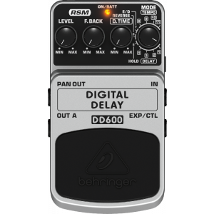 BEHRINGER DIGITAL DELAY DD600 Stereo Delay/Echo Effects Pedal