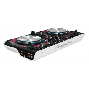 Pioneer - DDJ-WeGO Compact DJ Controller White