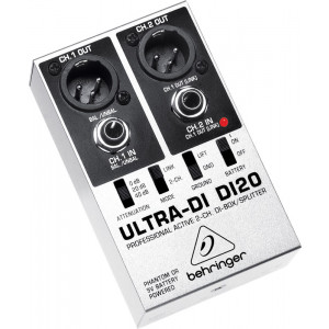 BEHRINGER ULTRA-DI DI20 Professional 2-Channel DI-Box/Splitter