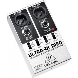 BEHRINGER ULTRA-DI DI20 Professional 2-Channel DI-Box/Splitter