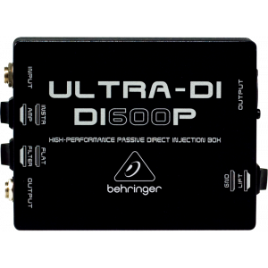 BEHRINGER ULTRA-DI DI600P High-Performance Passive Direct Injection Box