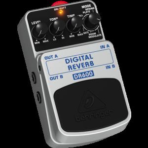 BEHRINGER DIGITAL REVERB DR600 Digital Stereo Reverb Effects Pedal