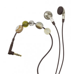 Beyerdynamic DTX 21 iE Style Ear Buds (Green & Tan)