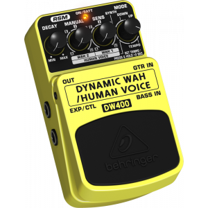 BEHRINGER DYNAMIC WAH DW400 Auto-Wah/Human Voice Effects Pedal