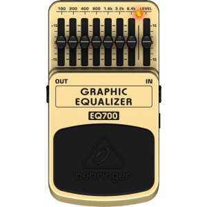 BEHRINGER 7-Band GRAPHIC EQUALIZER EQ700
