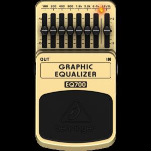 BEHRINGER 7-Band GRAPHIC EQUALIZER EQ700