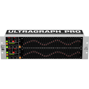 Behringer ULTRAGRAPH PRO FBQ6200  31-Band Stereo Graphic Equalizer
