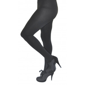 Royal Cult Skinny Fit Fleece Tights (M/L, Black)
