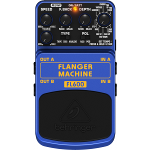 BEHRINGER FLANGER MACHINE FL600 Modeling Effects Pedal
