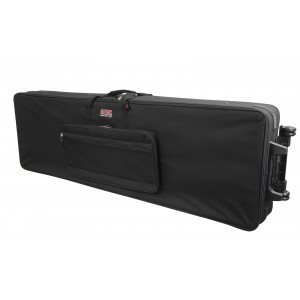 Gator GK-88 XL / Rigid Lightweight Case w/ Wheels for Extra Long 88 Note Keyboards