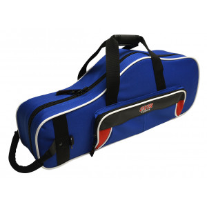 Gator GL-ALTOSAX-RB / Lightweight Alto Sax Case, Red & Blue