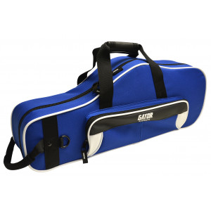 Gator GL-ALTOSAX-WB / Lightweight Alto Sax Case- Color: White & Blue