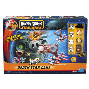 Angry Birds Star Wars Fighter Pods Jenga Death Star A2845