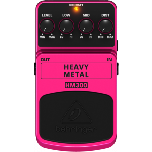 BEHRINGER HEAVY METAL HM300 Distortion Effects Pedal