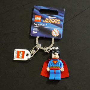 LEGO® Super Heroes Superman™ Key Chain 853430