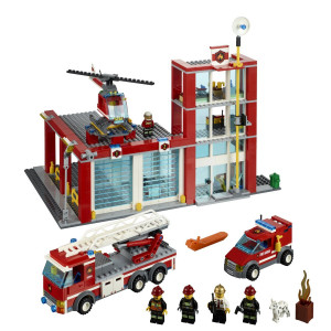 LEGO® City Fire Station 60004