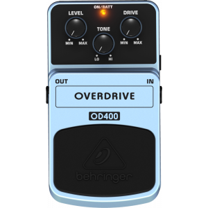BEHRINGER OVERDRIVE OD400 Effects Pedal