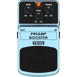 BEHRINGER PREAMP BOOSTER PB100 Preamplifier/Volume Booster