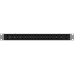 BEHRINGER ULTRAPATCH PRO PX3000 3-Mode Multi-Functional 48-Point Balanced Patchbay
